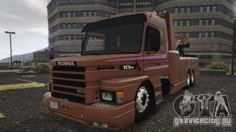 Scania 113H Guincho 4x6 Funcional для GTA 5