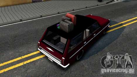 LOW Peren With Lagguage для GTA San Andreas вид сзади