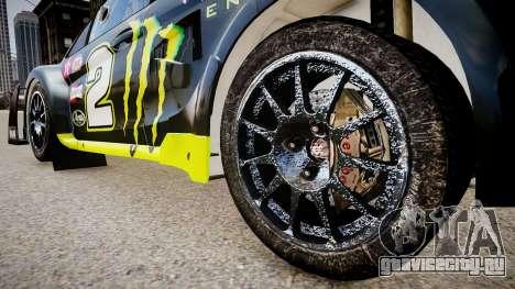 Ford Fiesta OMSE Hillclimb Special для GTA 4 вид сзади