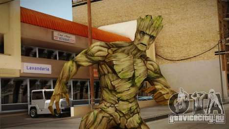 Marvel Future Fight - Groot для GTA San Andreas