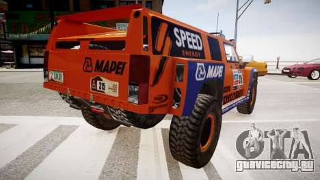Hummer H3 Robby Gordon 2013 для GTA 4