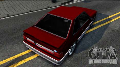 Ford Mustang 1993 для GTA San Andreas вид сзади