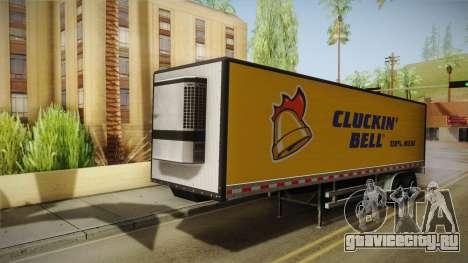 GTA 5 Refrigerated Trailer для GTA San Andreas