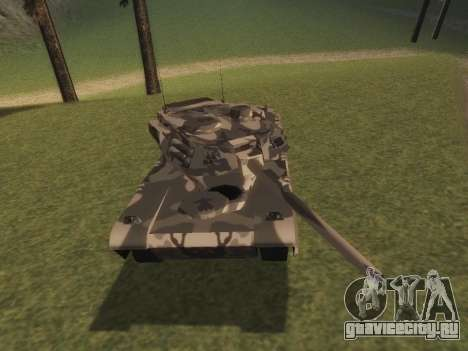 Rhino зимний камуфляж для GTA San Andreas вид слева