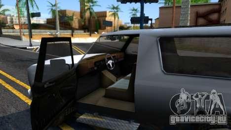Land Roamer Driver Parallel Lines для GTA San Andreas вид изнутри
