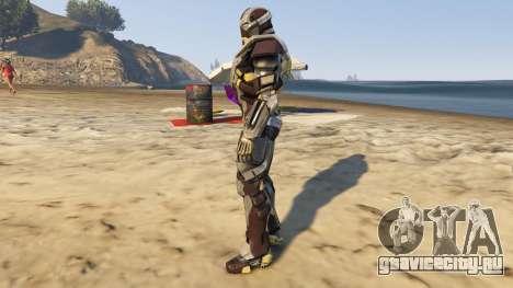Iron Man Mark 24 Tank для GTA 5 второй скриншот