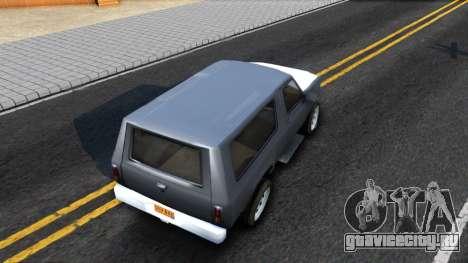 Land Roamer Driver Parallel Lines для GTA San Andreas вид сзади