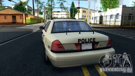 Ford Crown Victoria Generic 2010 для GTA San Andreas вид сзади слева