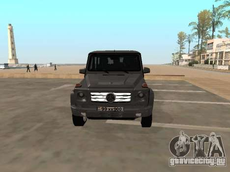 Mercedes-Benz G500 Armenian для GTA San Andreas вид слева