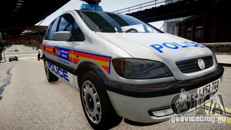Metropolitan Police 2002 IRV для GTA 4 вид справа