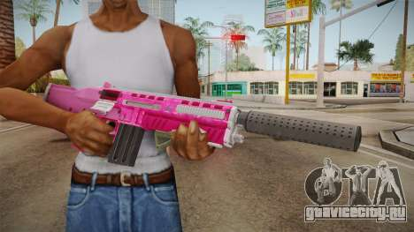 GTA 5 Assault Shotgun Pink для GTA San Andreas третий скриншот