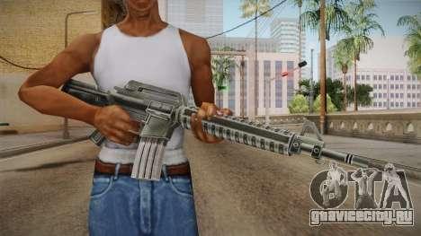 M4 HQ для GTA San Andreas третий скриншот