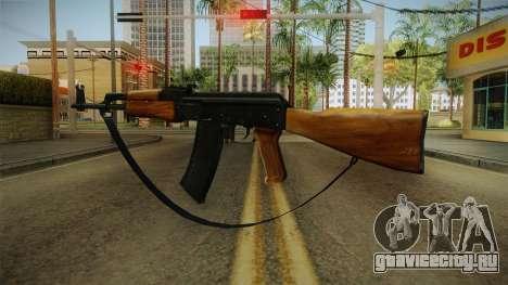 AK47 с ремешком для GTA San Andreas третий скриншот