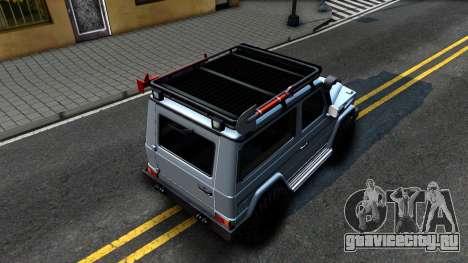 Mercedes-Benz G500 Off-Road Short для GTA San Andreas вид сзади