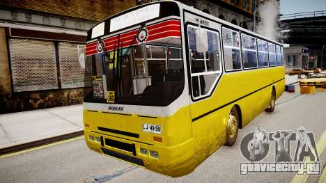 Ciferal GLS M.Benz OF-1318 для GTA 4 вид справа