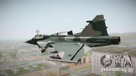 EMB J-39C Gripen NG FX-2 FAB для GTA San Andreas вид справа