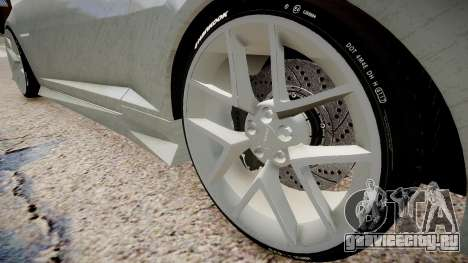 Chevrolet Camaro VR для GTA 4 вид сзади