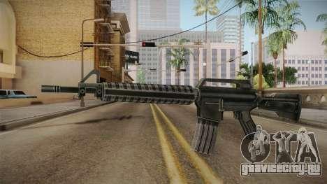 M4 HQ для GTA San Andreas