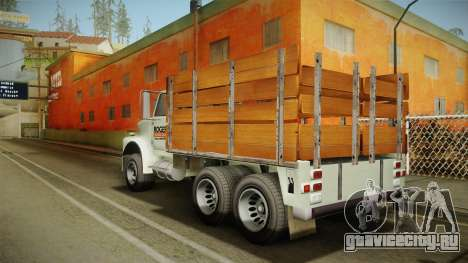 GTA 5 Vapid Scrap Truck Cleaner v2 для GTA San Andreas