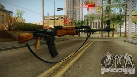 AK47 с ремешком для GTA San Andreas второй скриншот