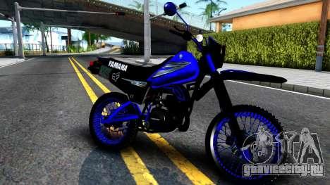 Yamaha DT 125 для GTA San Andreas