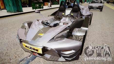 KTM X-Bow (GRID 2) для GTA 4 вид справа