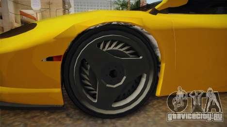 GTA 5 Ocelot Penetrator для GTA San Andreas вид сзади