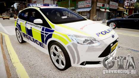 Ford Focus 2013 Swedish Police для GTA 4
