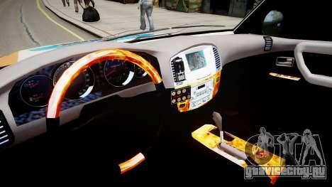 Toyota Land Cruiser GINAF Dakar Service Car для GTA 4 вид изнутри