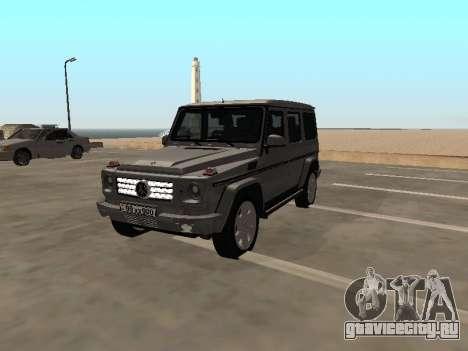 Mercedes-Benz G500 Armenian для GTA San Andreas
