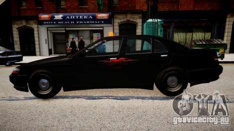 хХх Taxi для GTA 4 вид слева