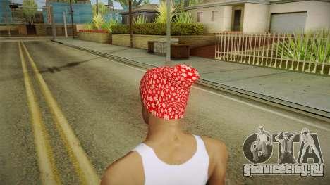 Новогодняя шапка для GTA San Andreas второй скриншот