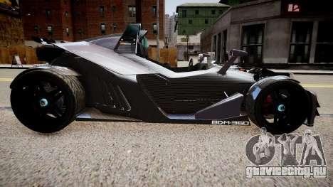 KTM X-Bow (GRID 2) для GTA 4 вид слева