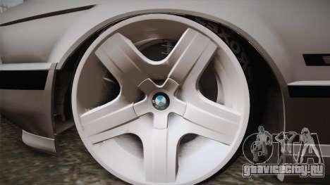 BMW 5 series E34 Touring для GTA San Andreas вид сзади слева