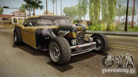 GTA 5 Declasse Tornado Rat Rod Cleaner для GTA San Andreas вид справа