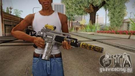 GTA 5 Special Carbine P v1 для GTA San Andreas третий скриншот