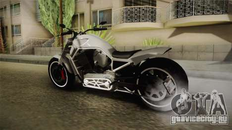 GTA 5 Western Nightblade для GTA San Andreas вид слева