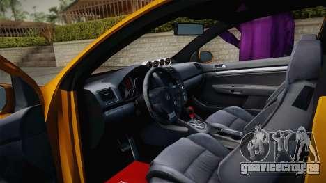 Volkswagen Golf 5 Stance для GTA San Andreas вид справа