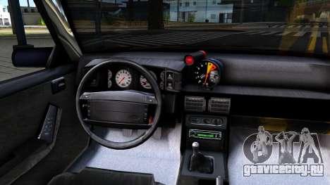 Ford Mustang 1993 для GTA San Andreas вид изнутри