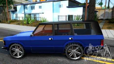 Huntley AcademeG для GTA San Andreas вид слева