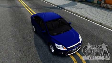 Ford Focus Sedan 2009 IVF для GTA San Andreas вид справа