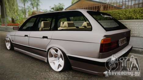 BMW 5 series E34 Touring для GTA San Andreas вид слева