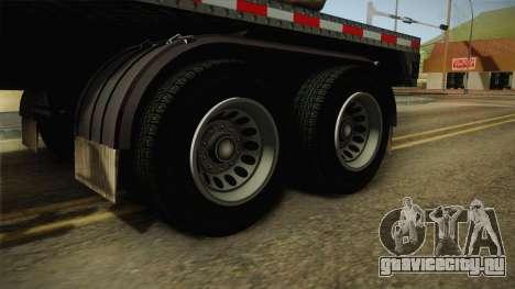 GTA 5 Log Trailer v2 для GTA San Andreas вид сзади