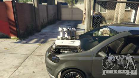 Asea V8 Mod для GTA 5 вид справа