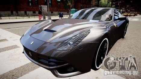 Ferrari F12 Berlinetta для GTA 4 вид справа