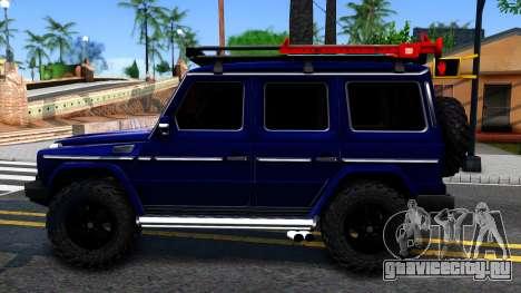 Mercedes-Benz G300 Professional для GTA San Andreas вид слева