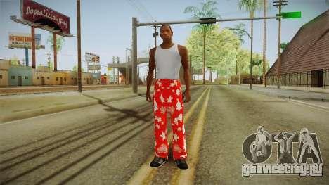 Новогоднее трико для GTA San Andreas третий скриншот