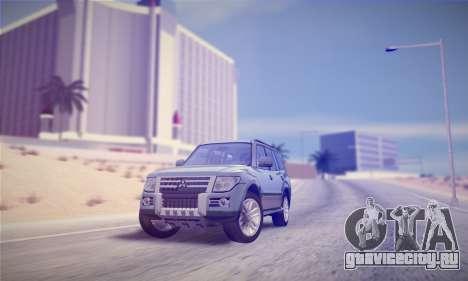 Mitsubishi Pajero IV 2015 для GTA San Andreas