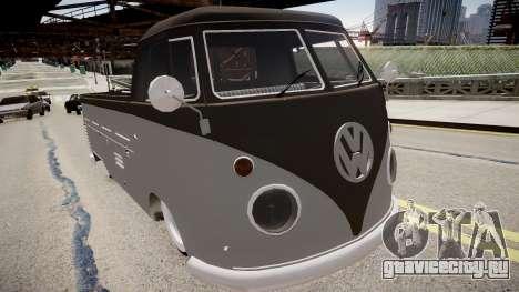 Volkswagen Kombi Tipo 2 Rod Cabine Simples для GTA 4