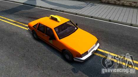 Taxi From LCS для GTA San Andreas вид справа